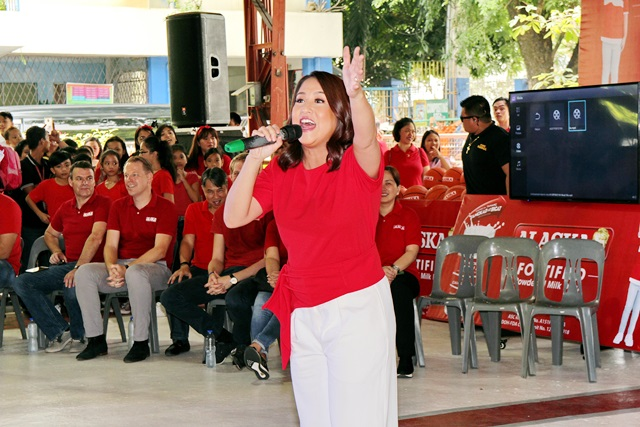 Batang Alaska School Milk Program with Jolina Magdangal-Escueta