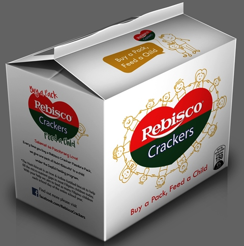 Rebisco Crackers Pasobra Pack - Enjoy a Snack and Give Back
