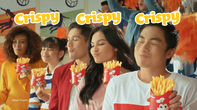 Crispy-Sarap Fries AD Will Get You Rushing to the Nearest Jollibee!