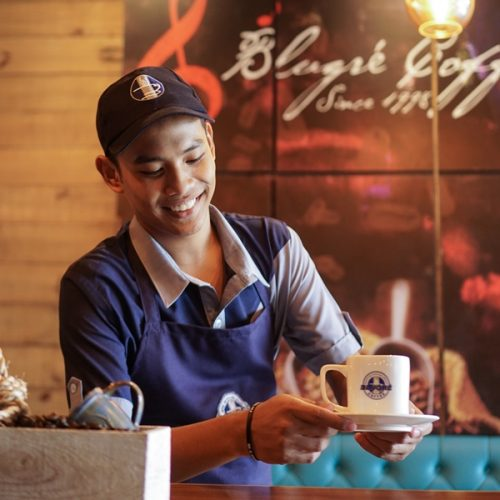 Quench Your Caffeine Thirst at Festival Mall Blugre Cafe