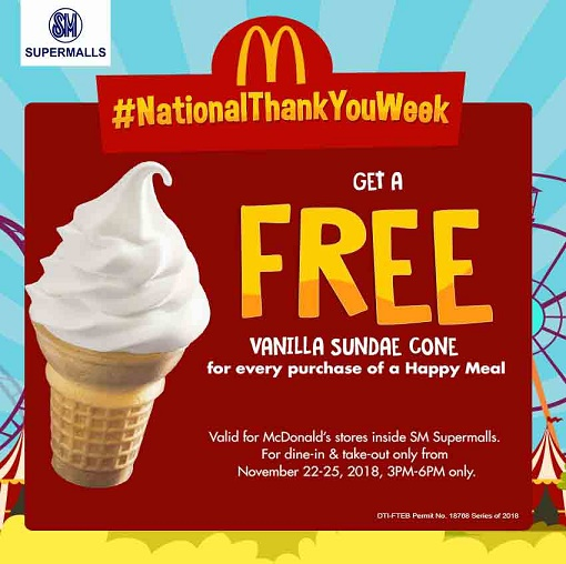 SM and McDonald's Team Up for #NationalThankYouWeek