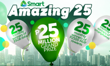 PLDT Smart Amazing 25 Million Promo