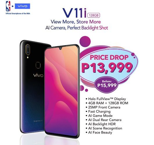 VIVO V11i Price Drop