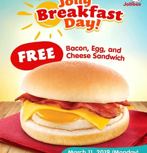 Jollibee Jolly Breakfast Day
