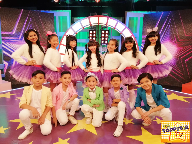 Rebisco Topps Sarap ToppStar TV kids