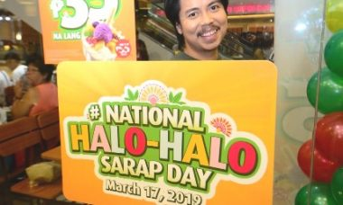 Mang Inasal National Halo halo Day Empoy