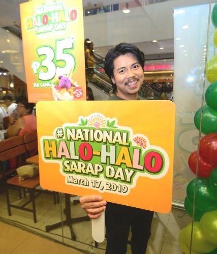 Mang Inasal National Halo halo Day Empoy