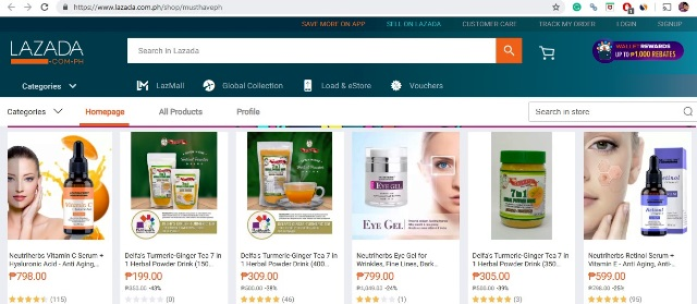 Must Have PH Lazada