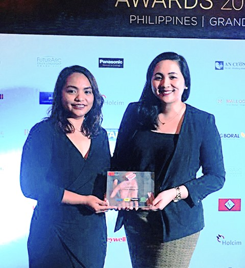 Filinvest Alabang Inc. wins at BCI Award