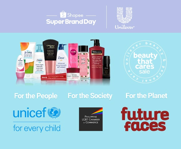 Shopee x Unilever #BeautyThatCares
