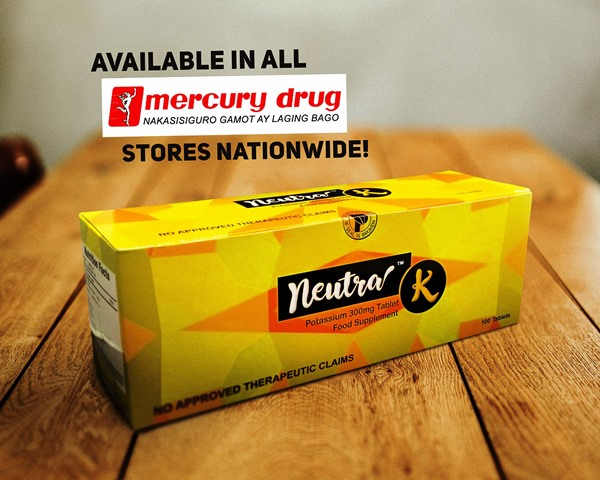 Neutra K now available in Mercury