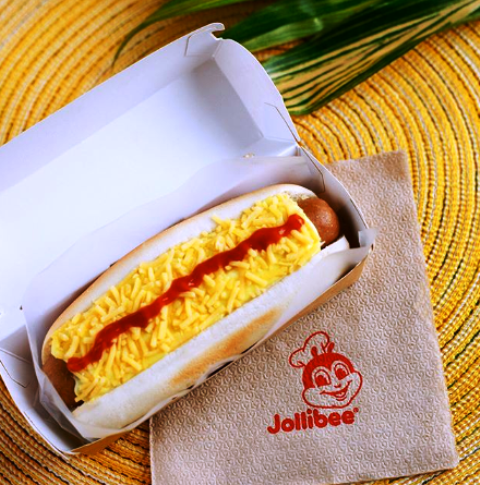 Cheesy Classic Jolly Hotdog
