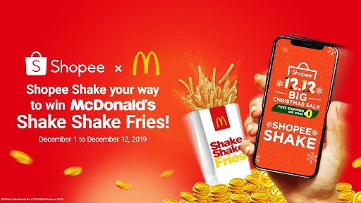 McDo SHAKE SHAKE FRIES