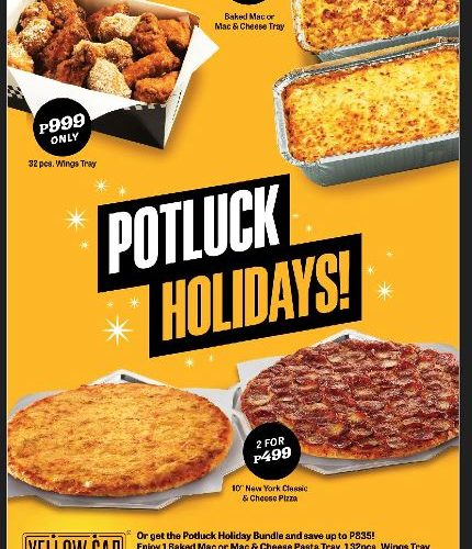Yellow Cab Potluck Holiday Bundle