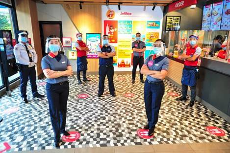 Jollibee reopens its doors for customers; sets the bar for quality standards for safety and cleanliness