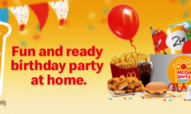 McDo Party Box