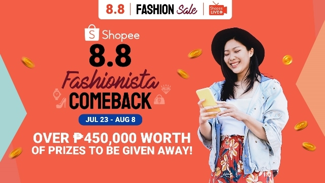Shopee 8.8 Fashionista