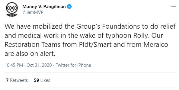 MVP Group Tweet