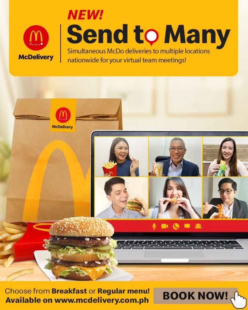 McDelivery Send to Many