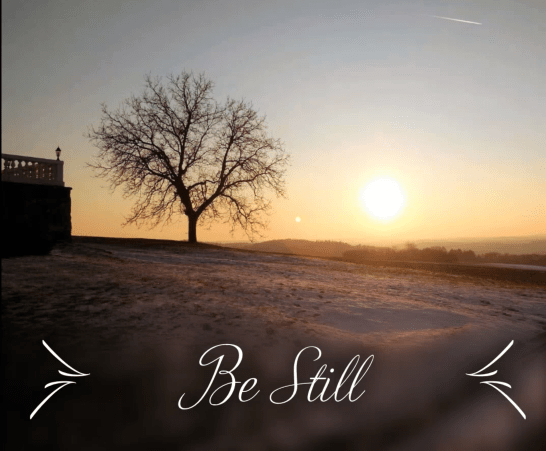 Be Still Cover