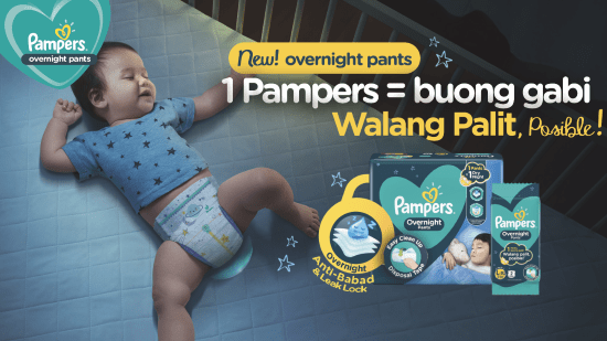 Pampers Overnight Pants