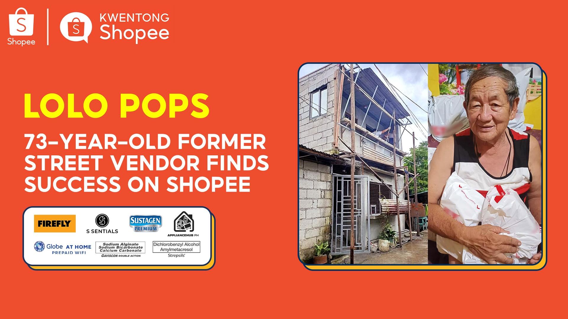 Kwentong Shopee Lolo Pops