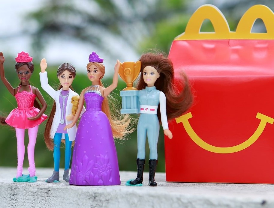 Barbie Happy Meal Toy Collectibles