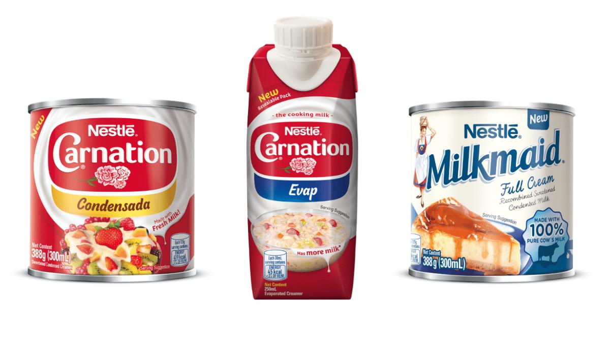 Nestle Carnation & Milkmaid